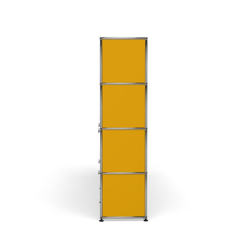 For Sale: Yellow (Golden Yellow) USM Haller Storage S2 Storage System 3