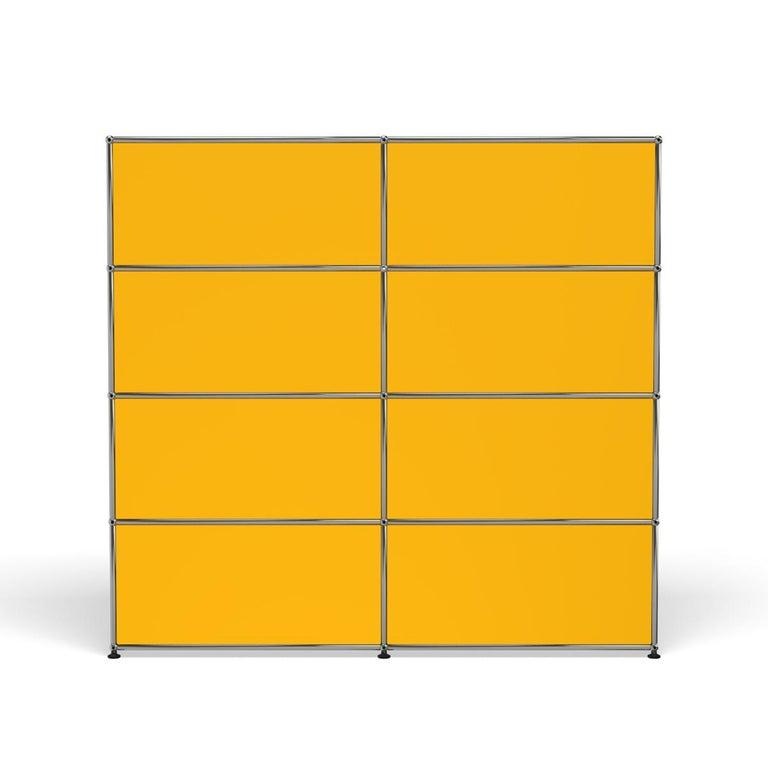 For Sale: Yellow (Golden Yellow) USM Haller Storage S2 Storage System 4