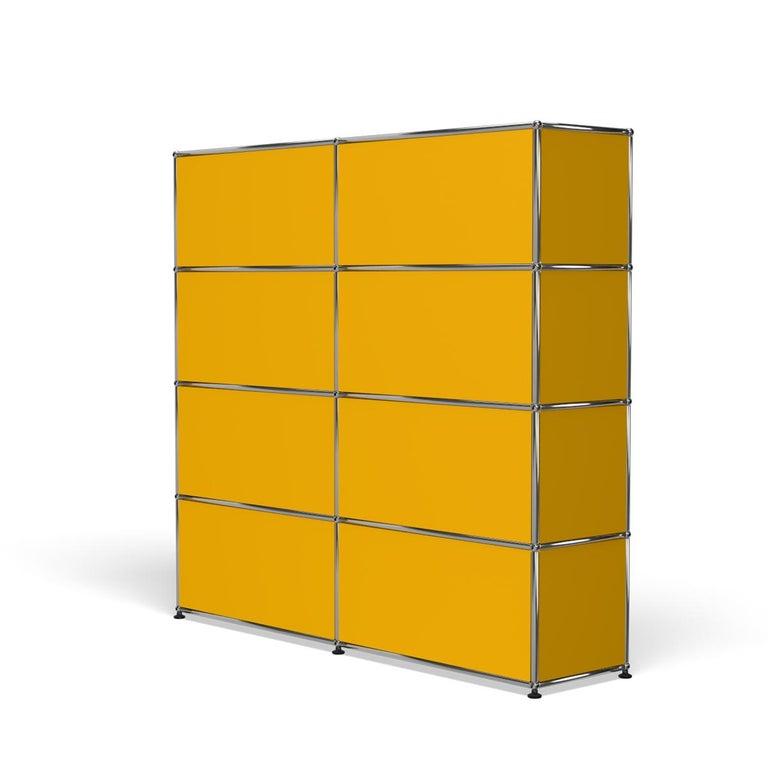 For Sale: Yellow (Golden Yellow) USM Haller Storage S2 Storage System 5