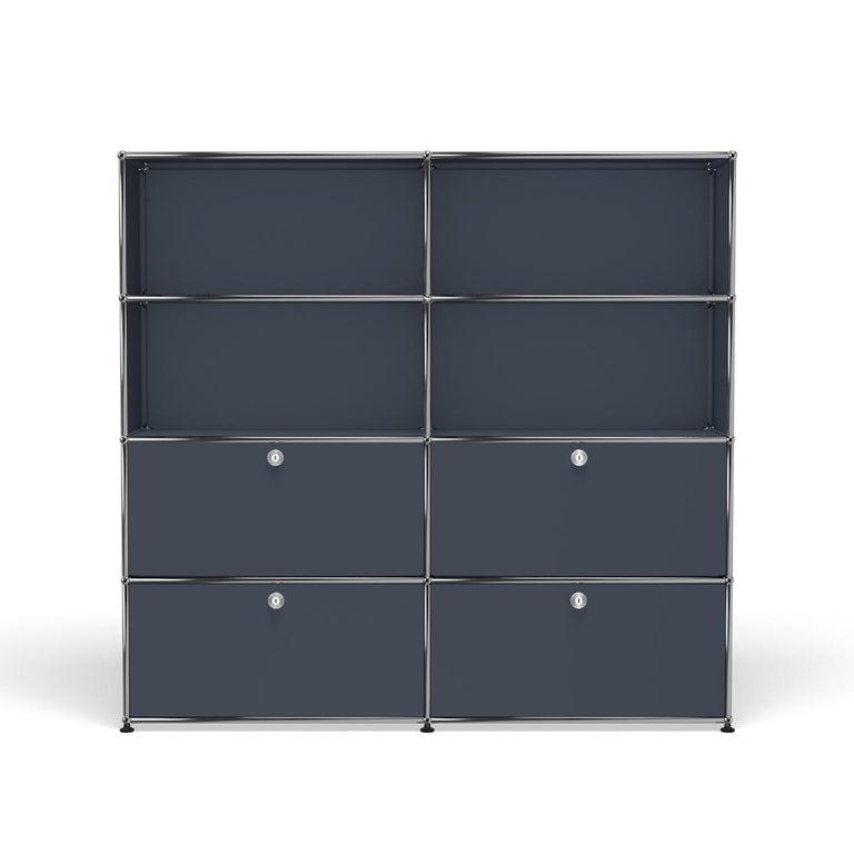 For Sale: Gray (Anthracite) USM Haller Storage S2 Storage System