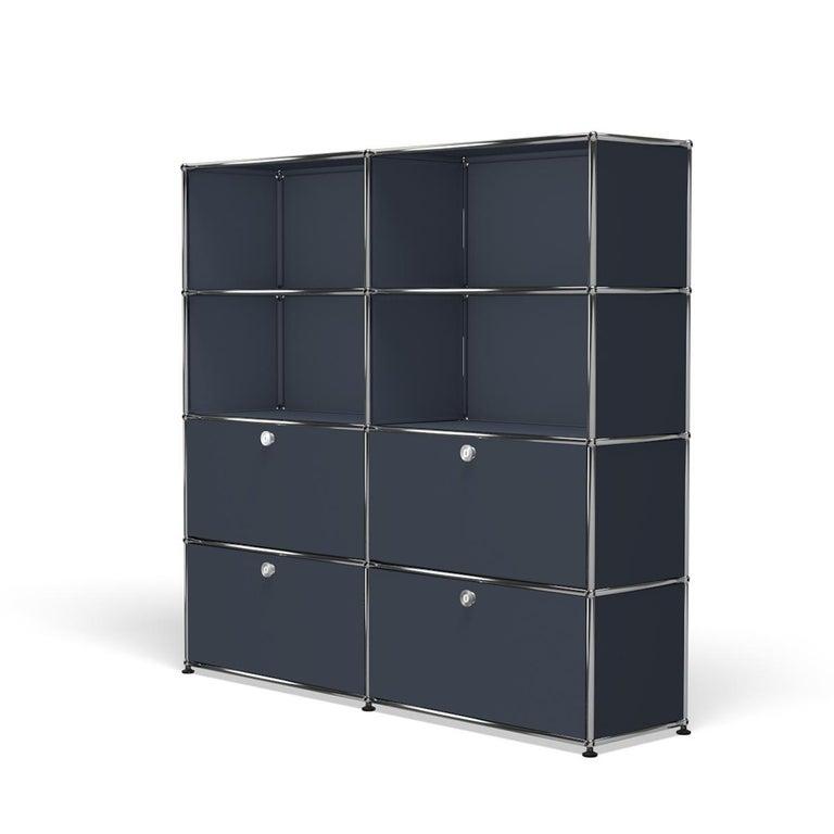 For Sale: Gray (Anthracite) USM Haller Storage S2 Storage System 2
