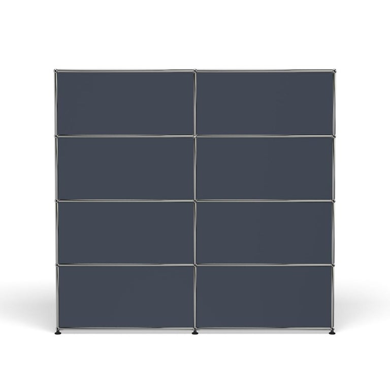 For Sale: Gray (Anthracite) USM Haller Storage S2 Storage System 4
