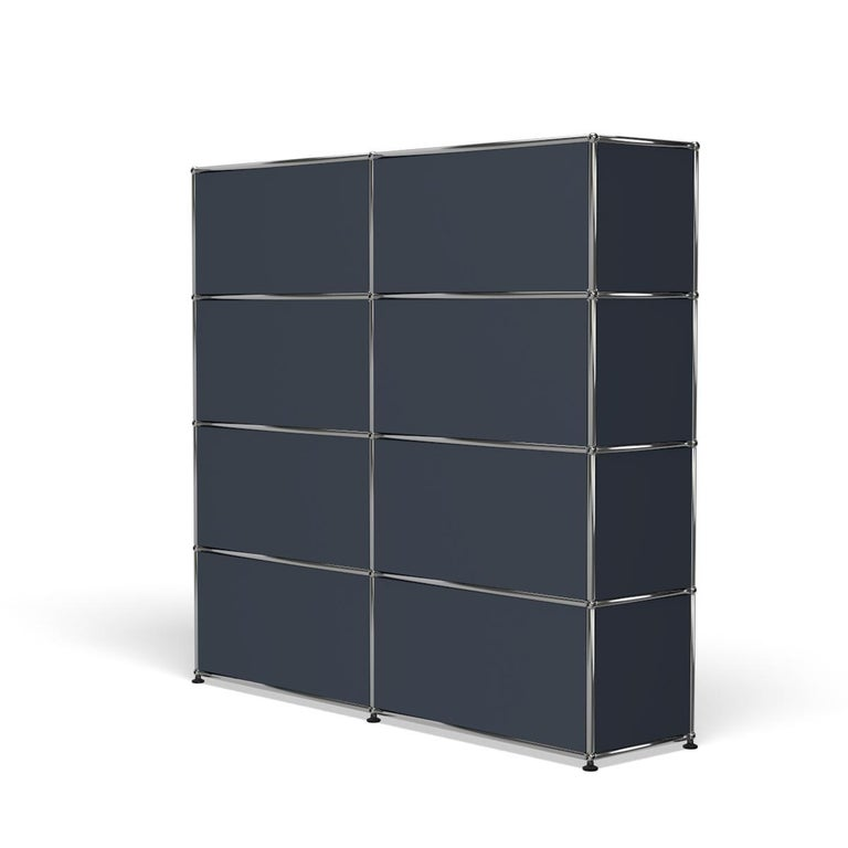 For Sale: Gray (Anthracite) USM Haller Storage S2 Storage System 5