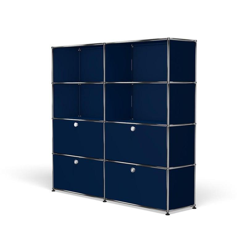 For Sale: Blue (Steel Blue) USM Haller Storage S2 Storage System 2