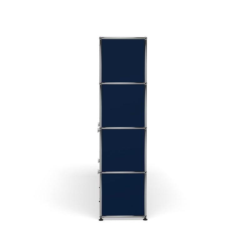 For Sale: Blue (Steel Blue) USM Haller Storage S2 Storage System 3