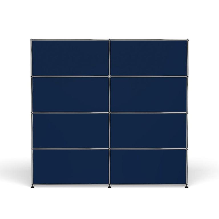 For Sale: Blue (Steel Blue) USM Haller Storage S2 Storage System 4