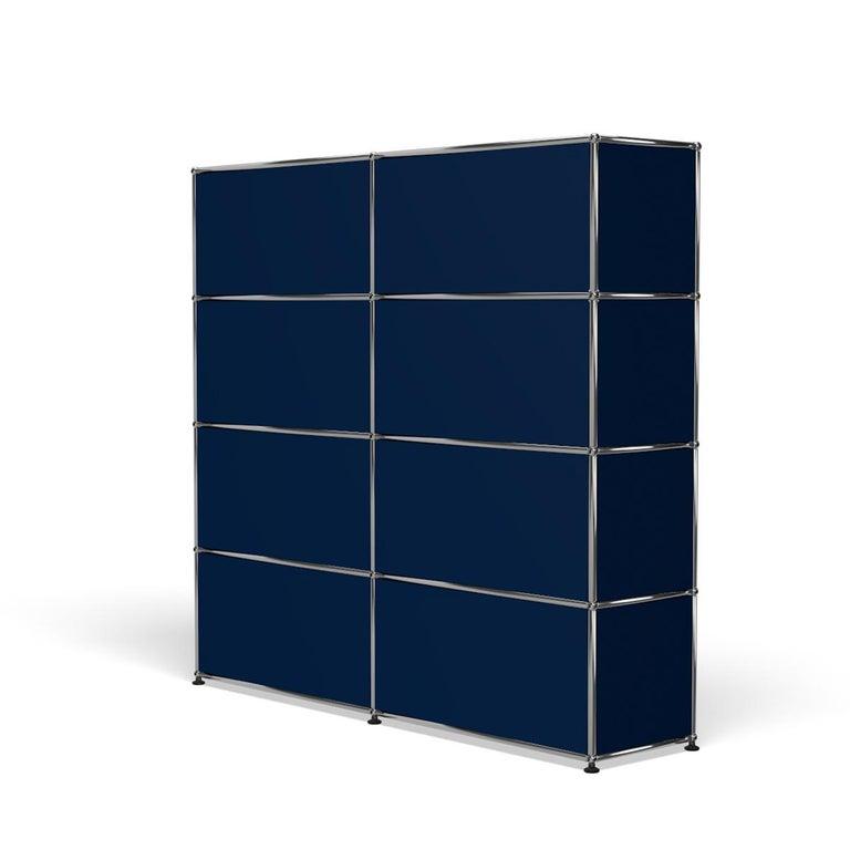 For Sale: Blue (Steel Blue) USM Haller Storage S2 Storage System 5