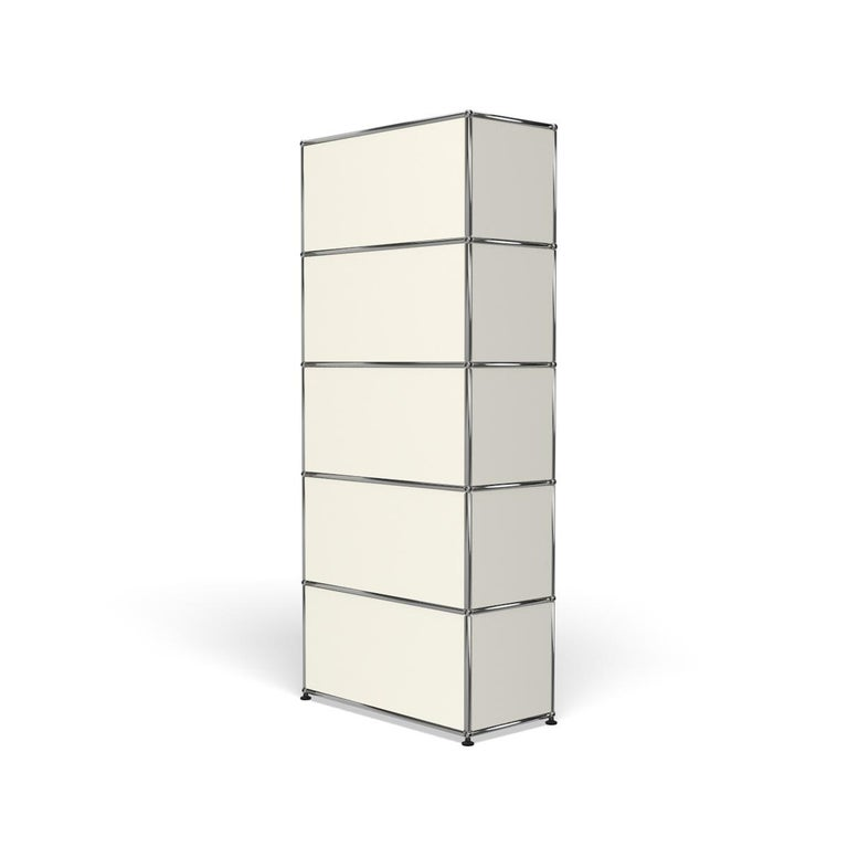 For Sale: White (Pure White) USM Haller Shelving R1 Storage System 5