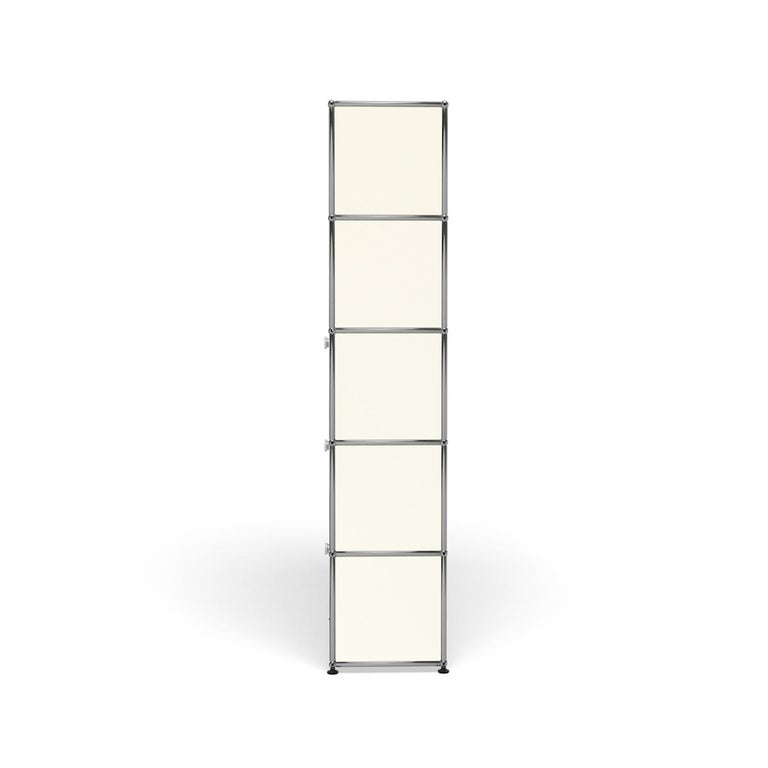 For Sale: White (Pure White) Haller Shelving Q118 Storage System by USM 3