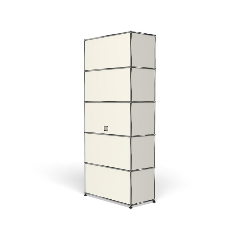 For Sale: White (Pure White) Haller Shelving Q118 Storage System by USM 5