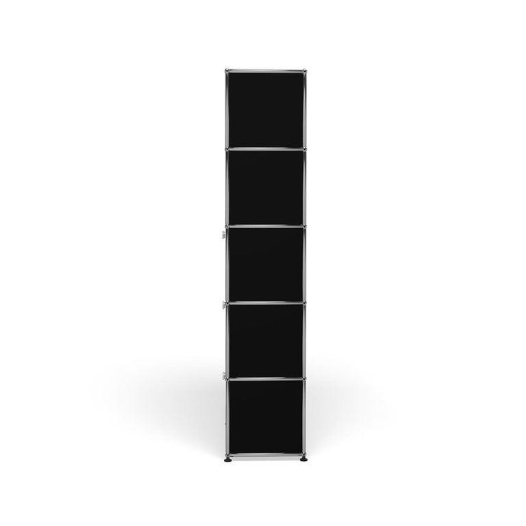 For Sale: Black (Graphite Black) Haller Shelving Q118 Storage System by USM 3