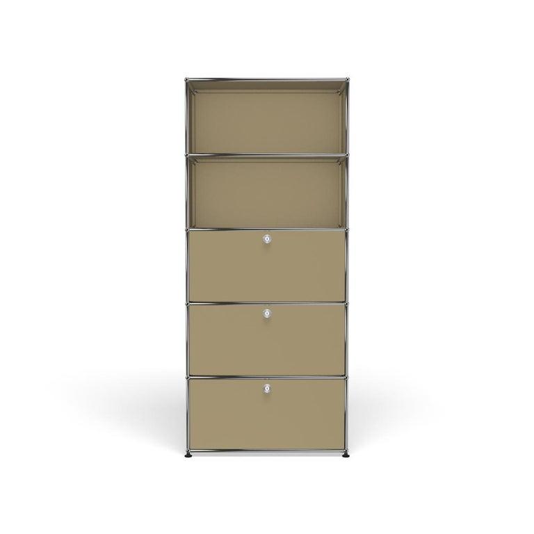 For Sale: Beige Haller Shelving Q118 Storage System by USM