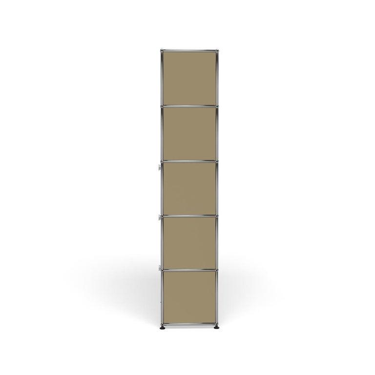For Sale: Beige Haller Shelving Q118 Storage System by USM 3