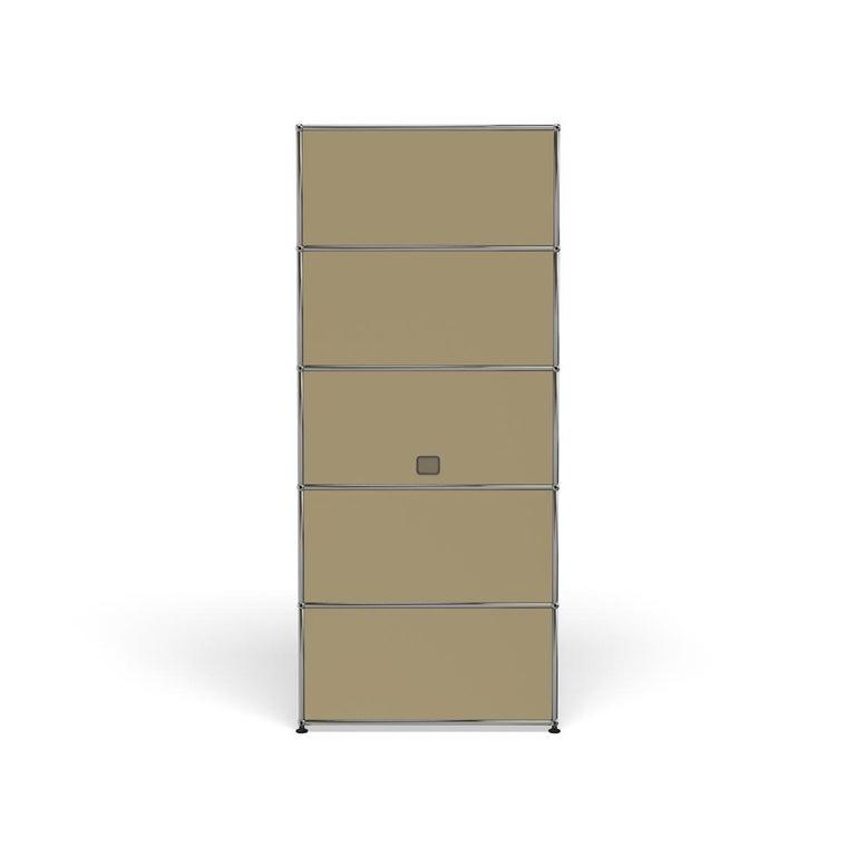 For Sale: Beige Haller Shelving Q118 Storage System by USM 4