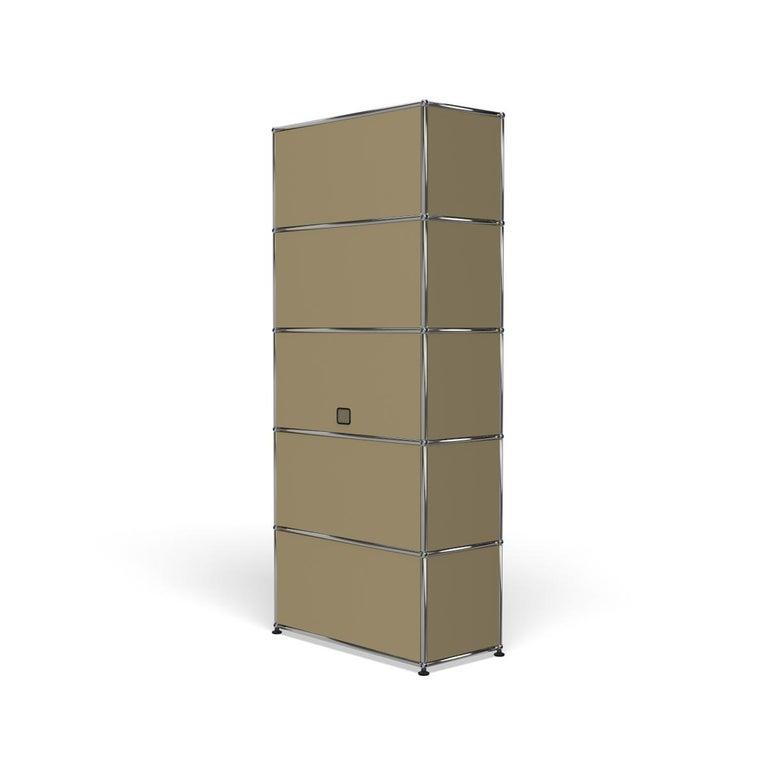 For Sale: Beige Haller Shelving Q118 Storage System by USM 5