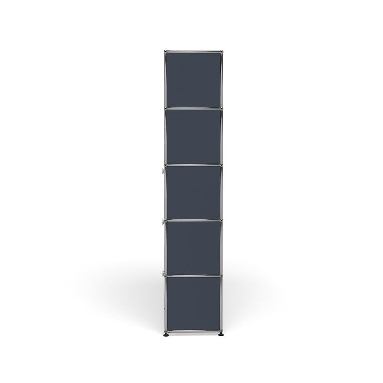For Sale: Gray (Anthracite) Haller Shelving Q118 Storage System by USM 3