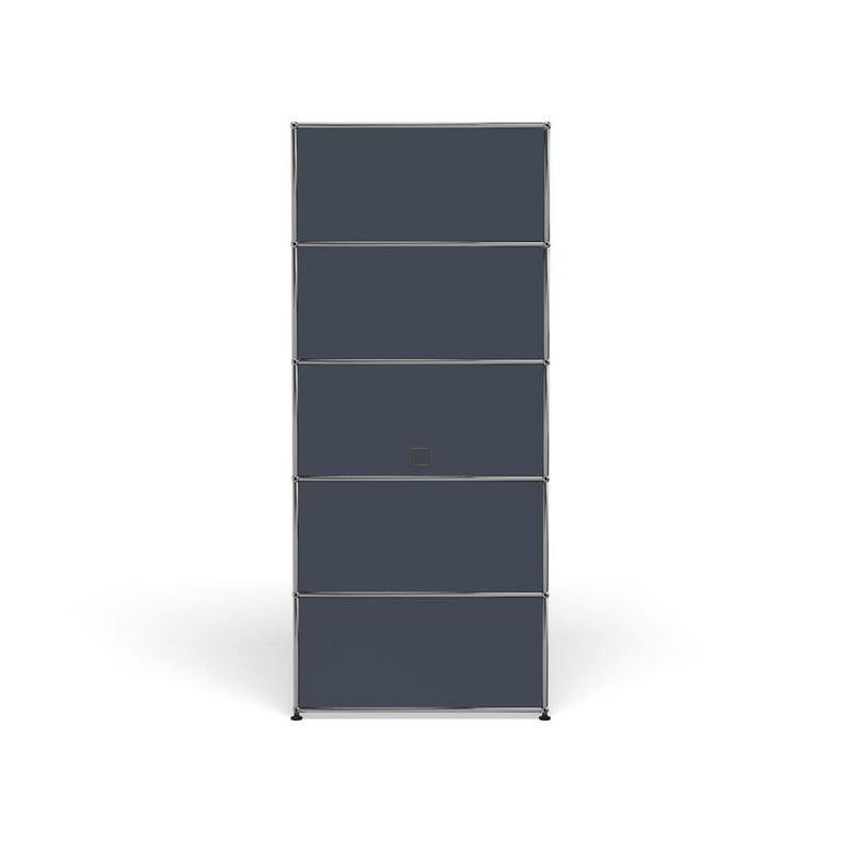 For Sale: Gray (Anthracite) Haller Shelving Q118 Storage System by USM 4