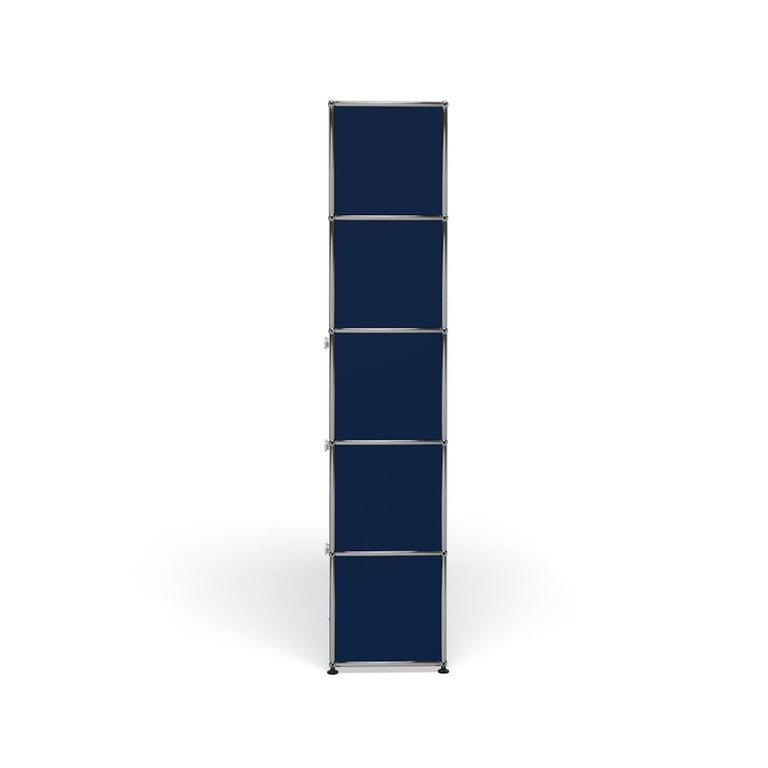 For Sale: Blue (Steel Blue) Haller Shelving Q118 Storage System by USM 3