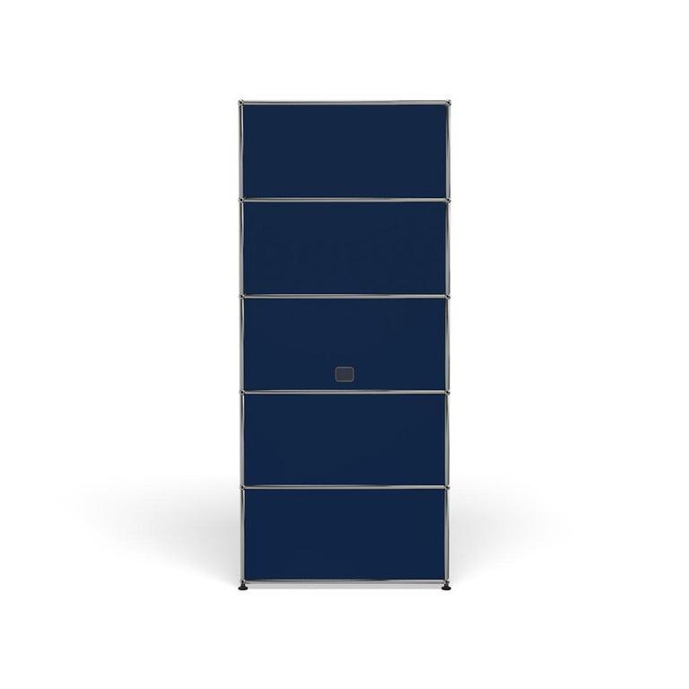 For Sale: Blue (Steel Blue) Haller Shelving Q118 Storage System by USM 4