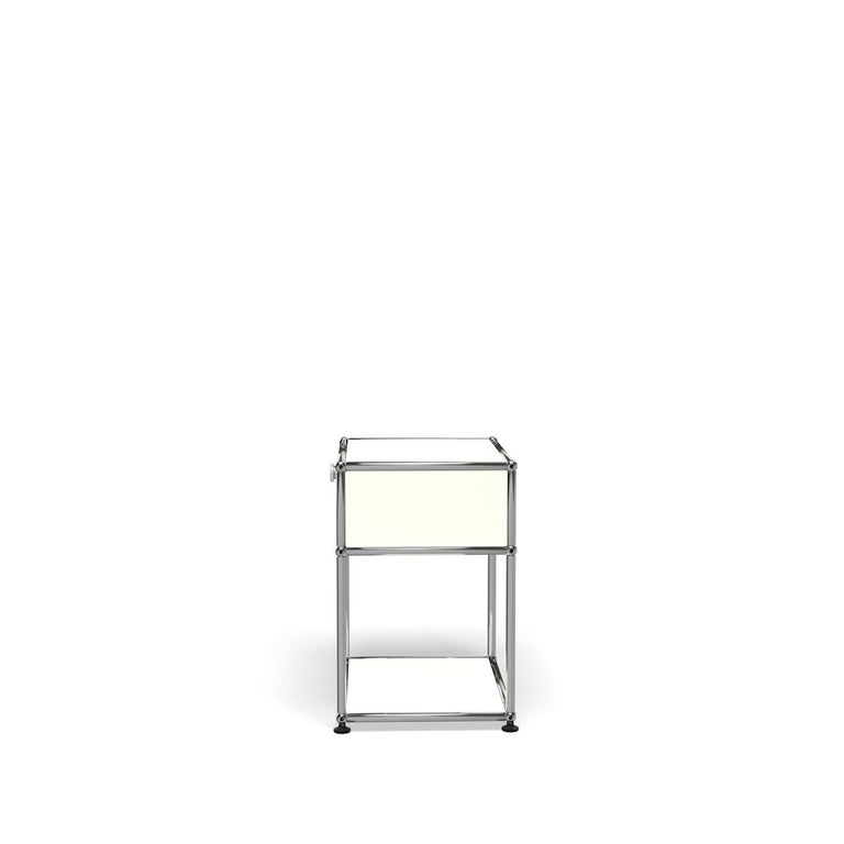 For Sale: White (Pure White) Haller Nightstand P2 Storage System by USM 3