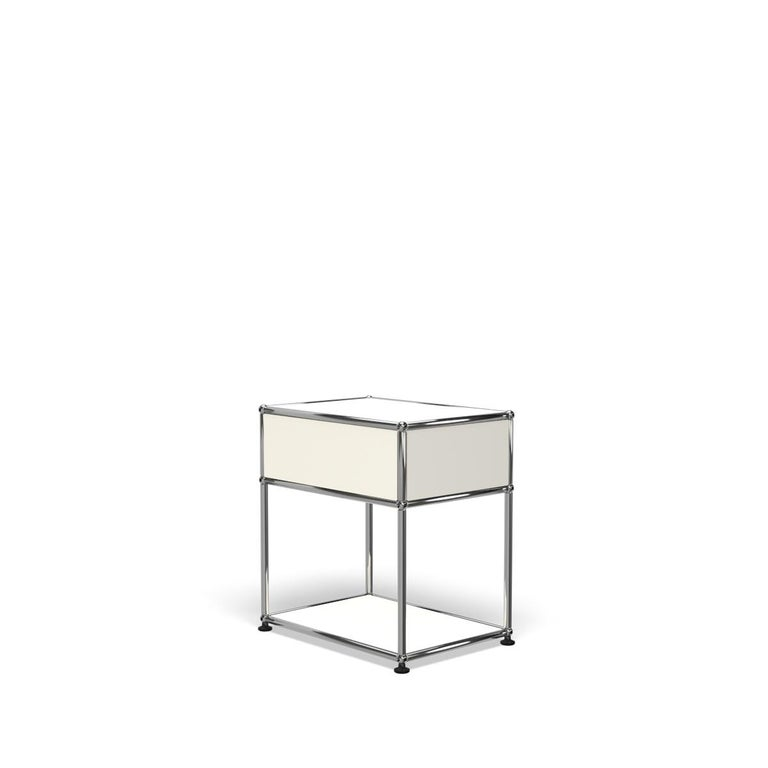 For Sale: White (Pure White) Haller Nightstand P2 Storage System by USM 5