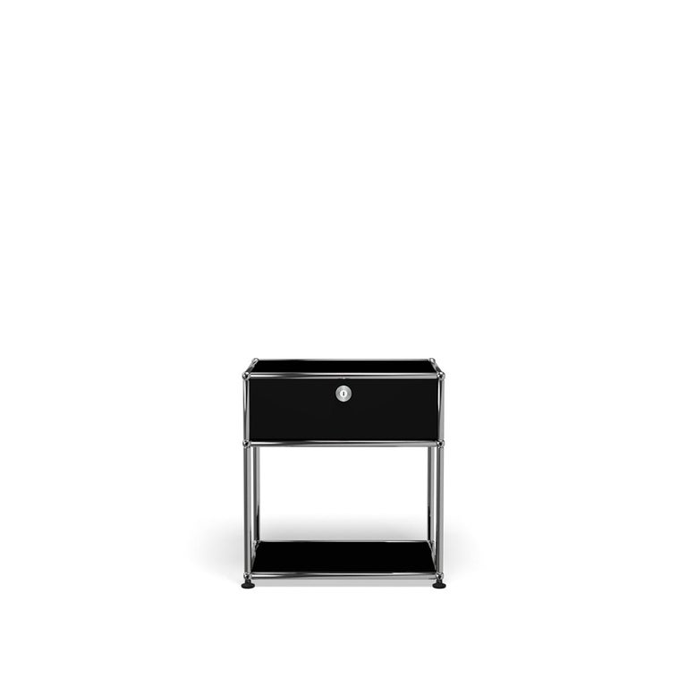 For Sale: Black (Graphite Black) USM Nightstand P2 Storage System