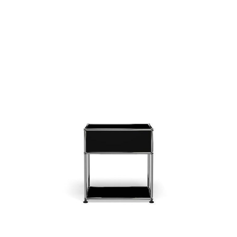 For Sale: Black (Graphite Black) USM Nightstand P2 Storage System 4