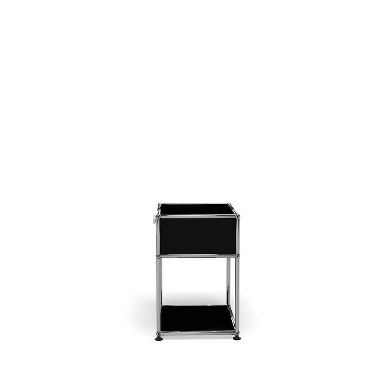 For Sale: Black (Graphite Black) USM Nightstand P2 Storage System 3