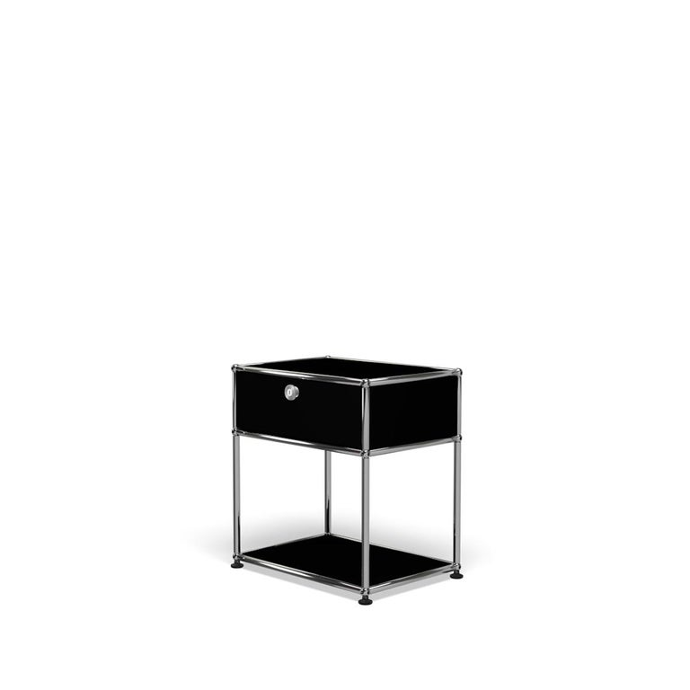 For Sale: Black (Graphite Black) USM Nightstand P2 Storage System 2