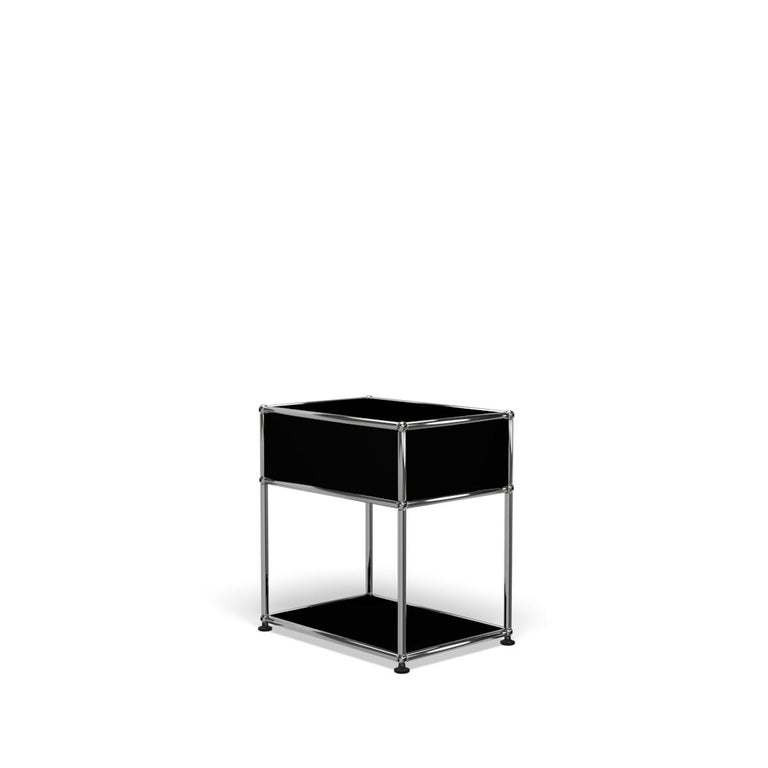 For Sale: Black (Graphite Black) USM Nightstand P2 Storage System 5