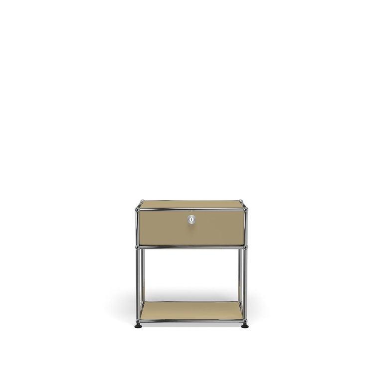 For Sale: Beige USM Nightstand P2 Storage System