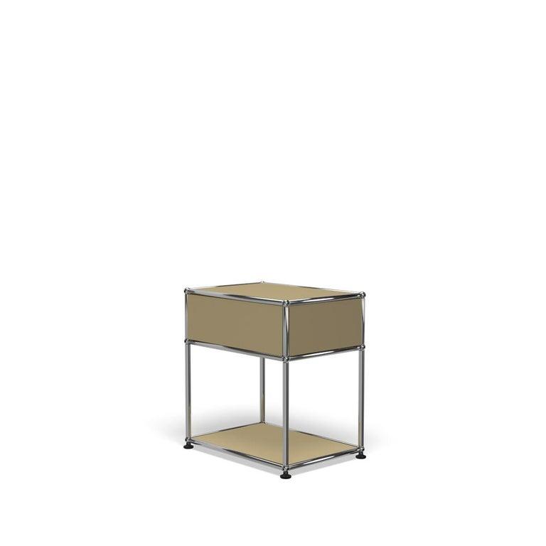 For Sale: Beige USM Nightstand P2 Storage System 5