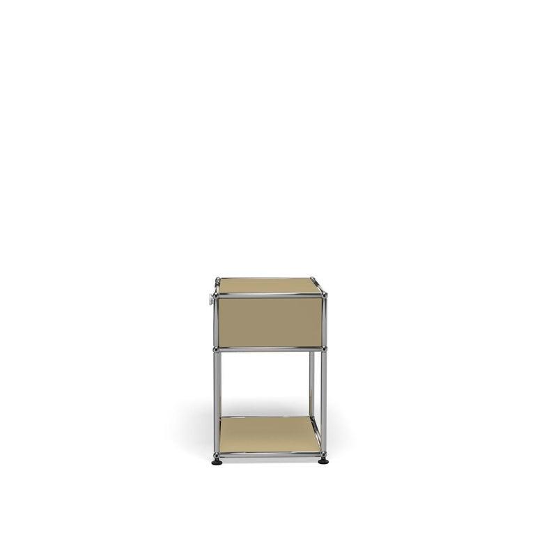 For Sale: Beige USM Nightstand P2 Storage System 3