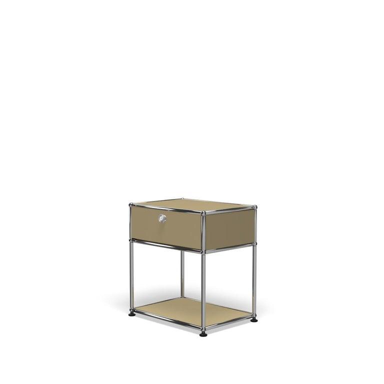 For Sale: Beige USM Nightstand P2 Storage System 2