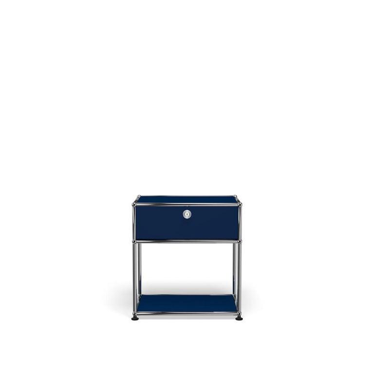 For Sale: Blue (Steel Blue) USM Nightstand P2 Storage System