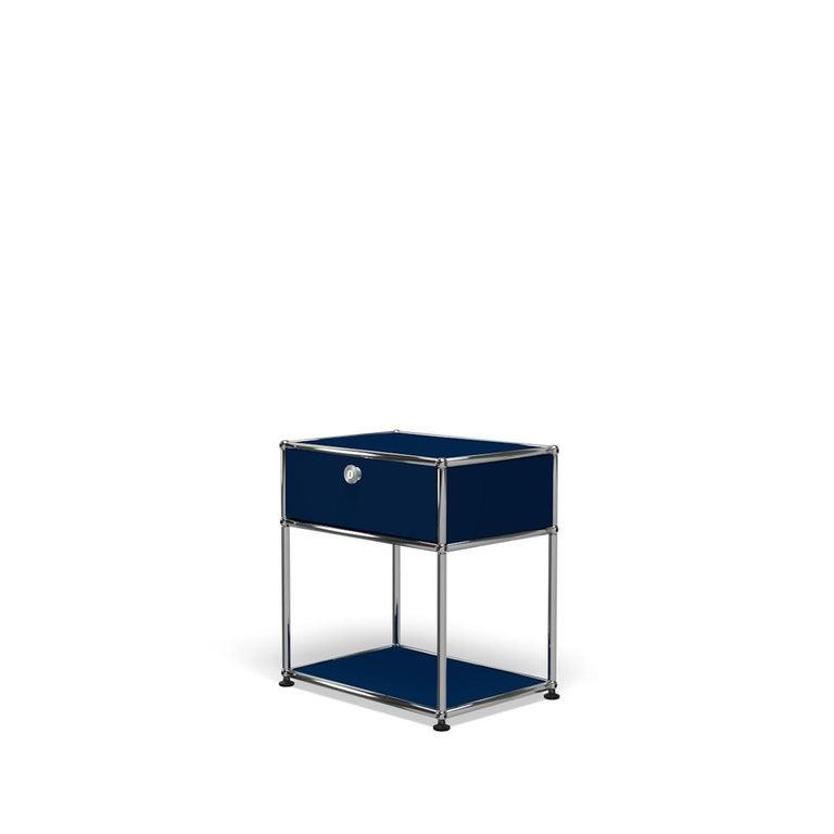 For Sale: Blue (Steel Blue) USM Nightstand P2 Storage System 2