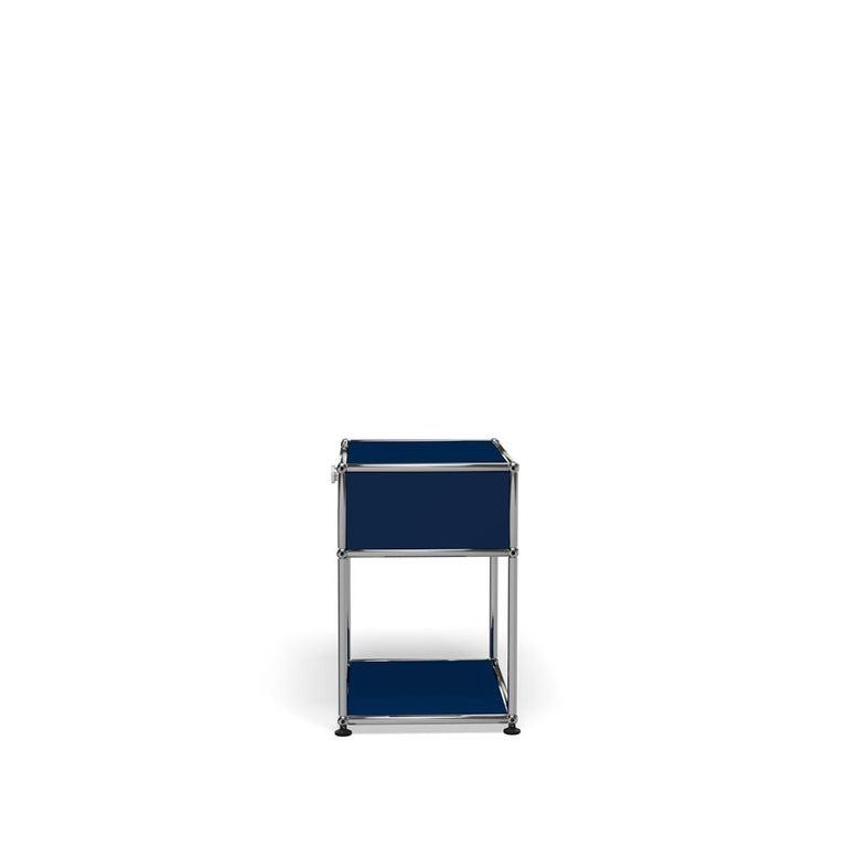 For Sale: Blue (Steel Blue) USM Nightstand P2 Storage System 3