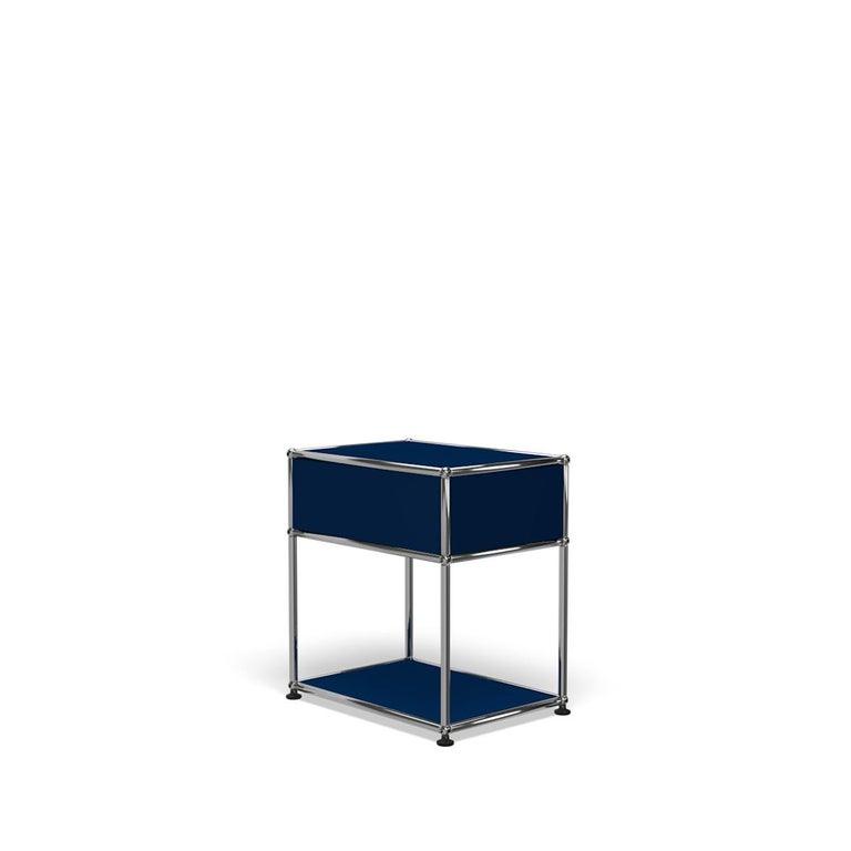 For Sale: Blue (Steel Blue) USM Nightstand P2 Storage System 5