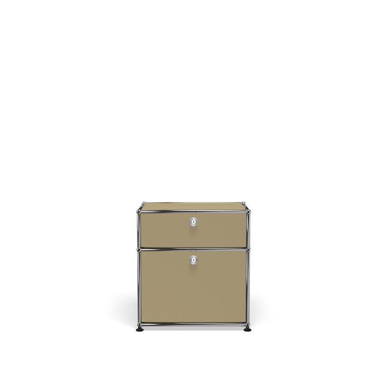 For Sale: Beige Haller Nightstand P1 Storage System by USM