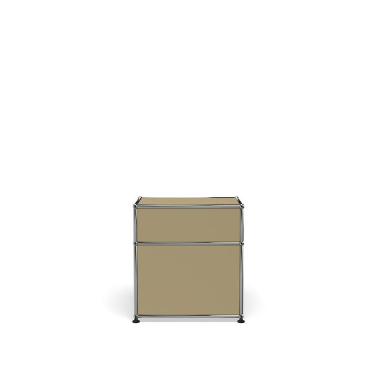 For Sale: Beige Haller Nightstand P1 Storage System by USM 4