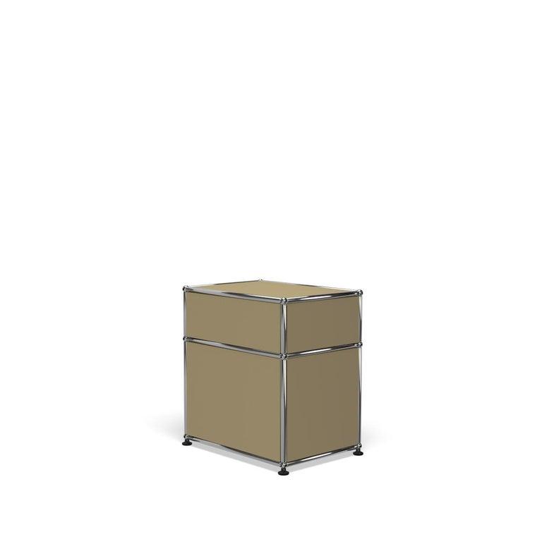 For Sale: Beige Haller Nightstand P1 Storage System by USM 5