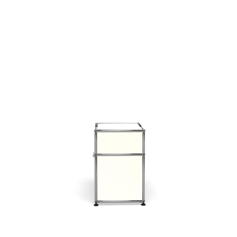 For Sale: White (Pure White) Haller Nightstand P Storage System by USM 3