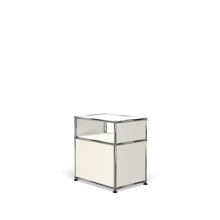 For Sale: White (Pure White) USM Haller Nightstand P Storage System 5