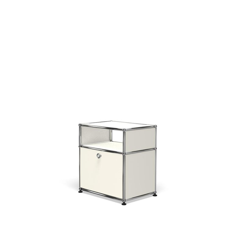 For Sale: White (Pure White) Haller Nightstand P Storage System by USM 2