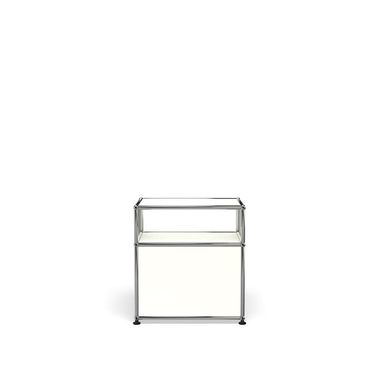 For Sale: White (Pure White) Haller Nightstand P Storage System by USM 4