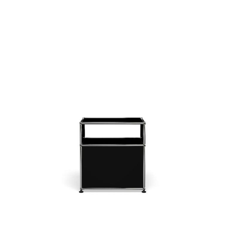 For Sale: Black (Graphite Black) USM Haller Nightstand P Storage System 4