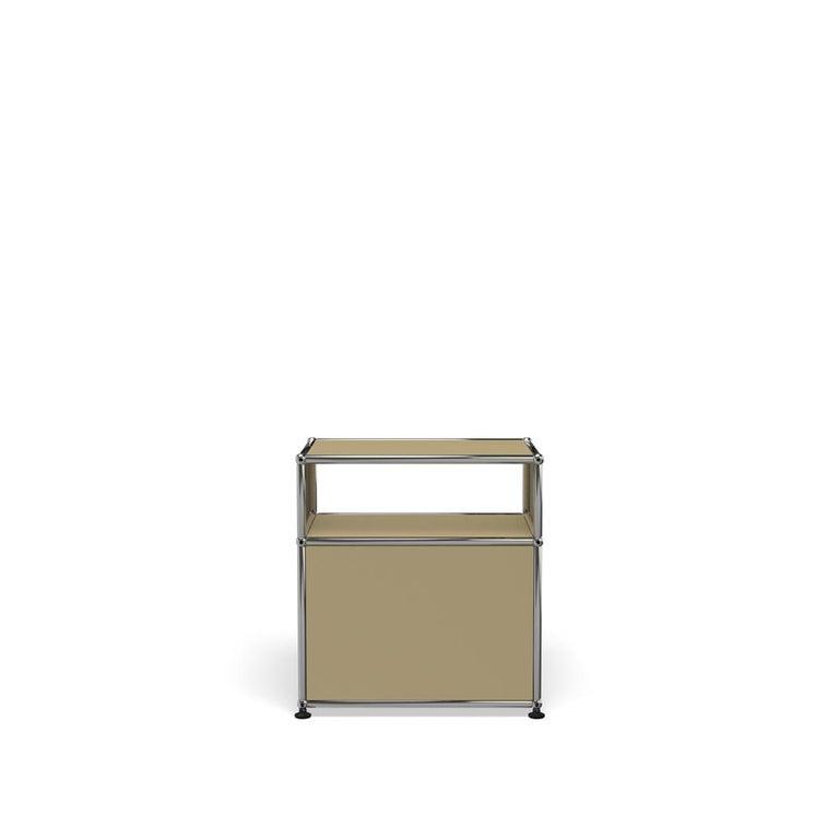 For Sale: Beige USM Haller Nightstand P Storage System 4