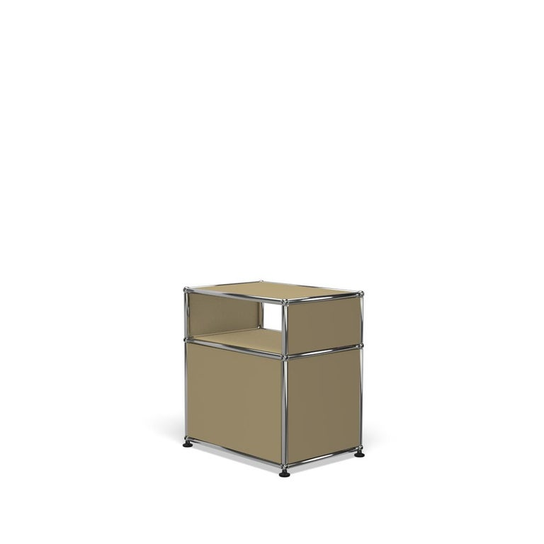 For Sale: Beige USM Haller Nightstand P Storage System 5