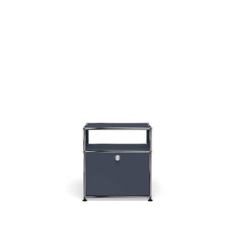 For Sale: Gray (Anthracite) USM Haller Nightstand P Storage System
