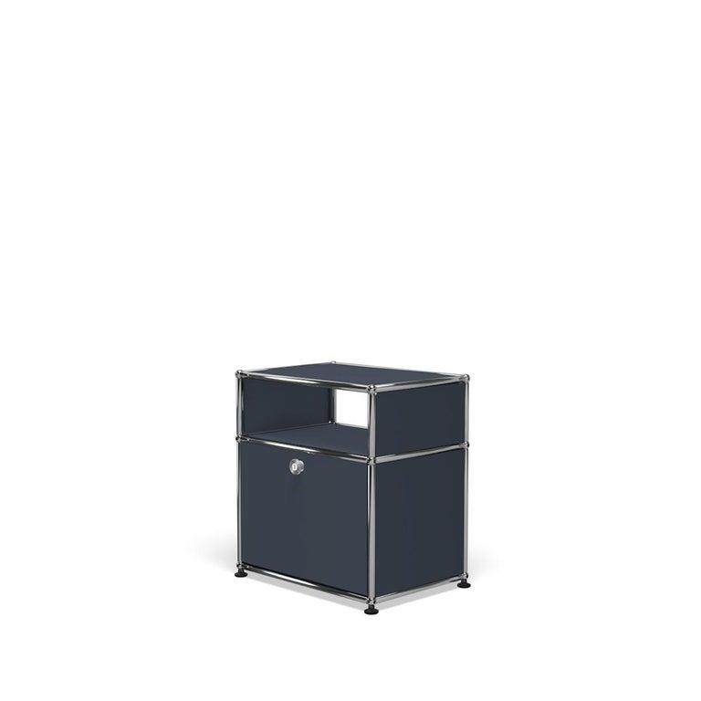 For Sale: Gray (Anthracite) USM Haller Nightstand P Storage System 2